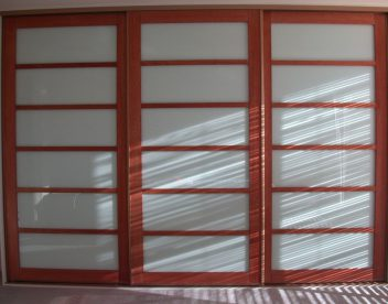 Japanese Cherry Sliding Doors