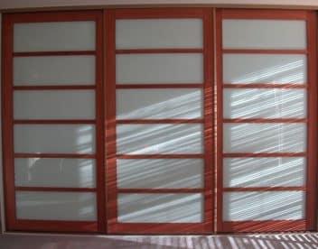 Japanese Cherry Sliding Doors