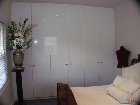 Plain doors dulux white gloss