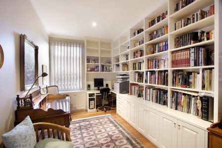 Built In Bookshelves
