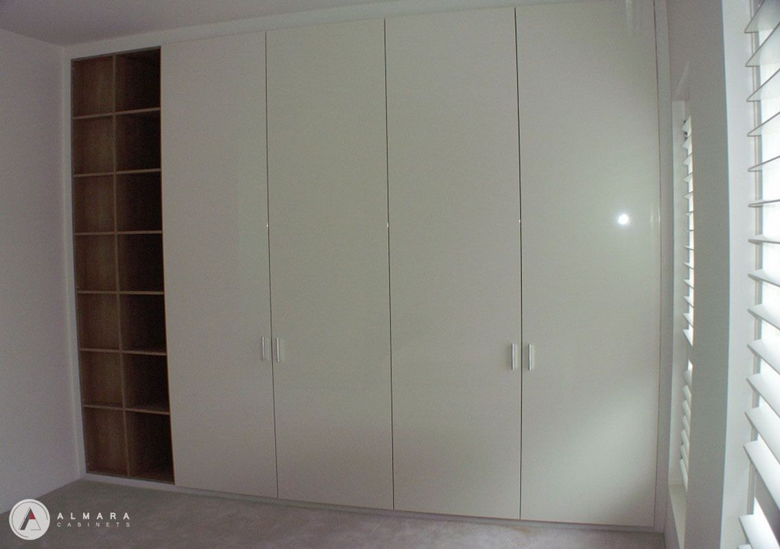 Plain door satin 2 pac