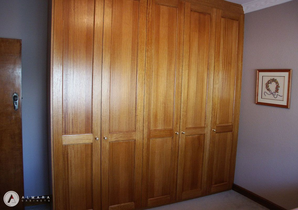 Tas oak stained doors