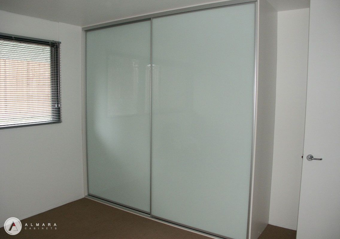 Whitelite glass sliding doors
